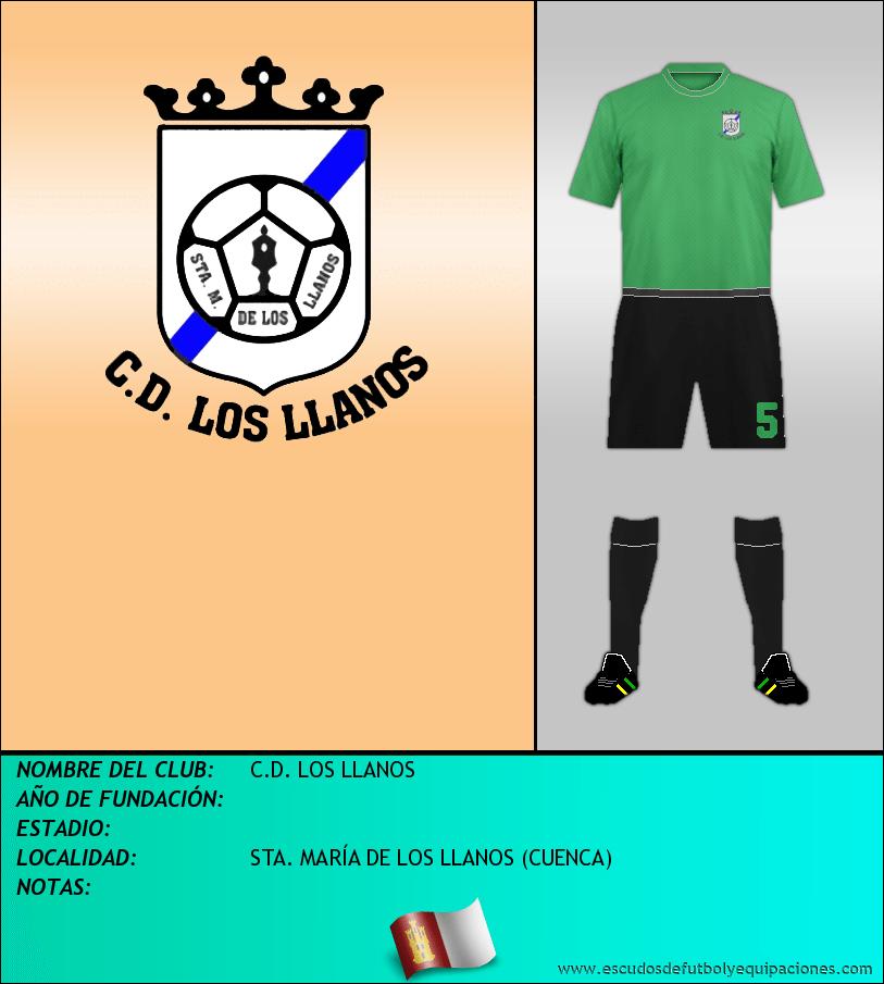 Escudo de C.D. LOS LLANOS