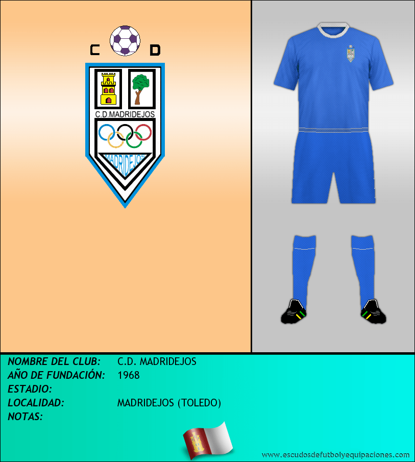 Escudo de C.D. MADRIDEJOS
