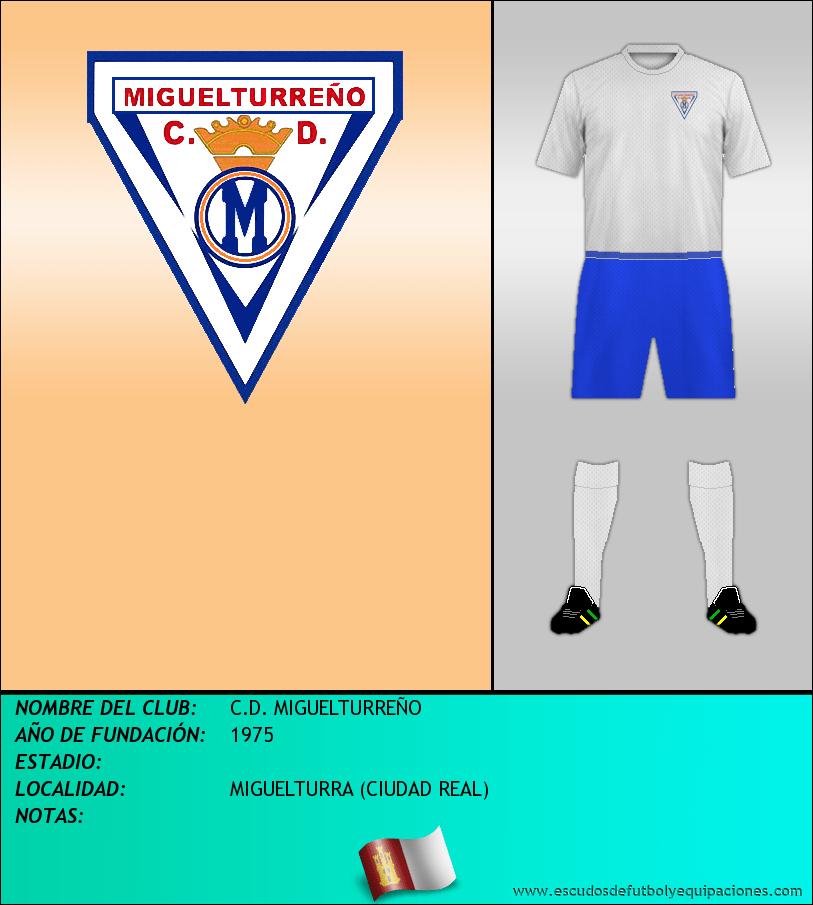 Escudo de C.D. MIGUELTURREÑO