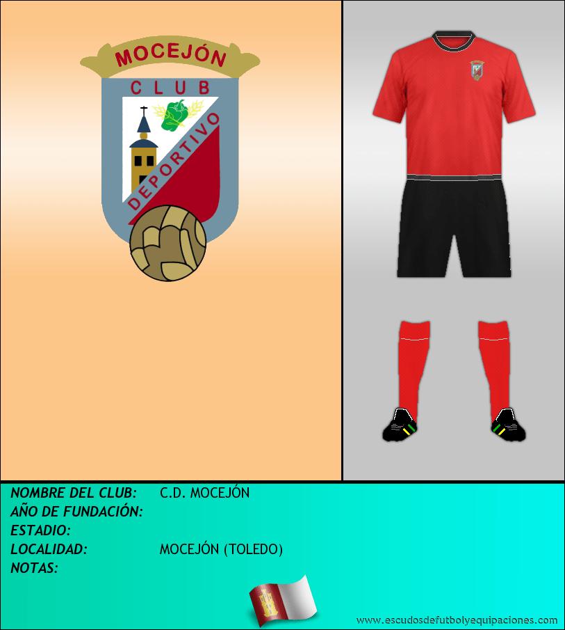 Escudo de C.D. MOCEJÓN