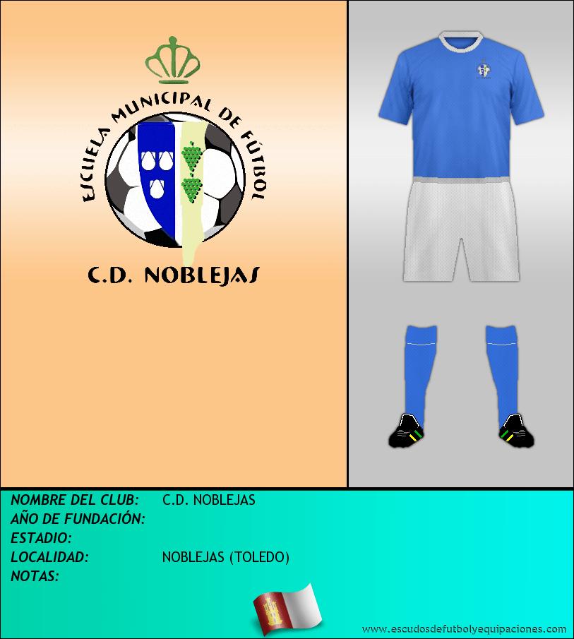 Escudo de C.D. NOBLEJAS