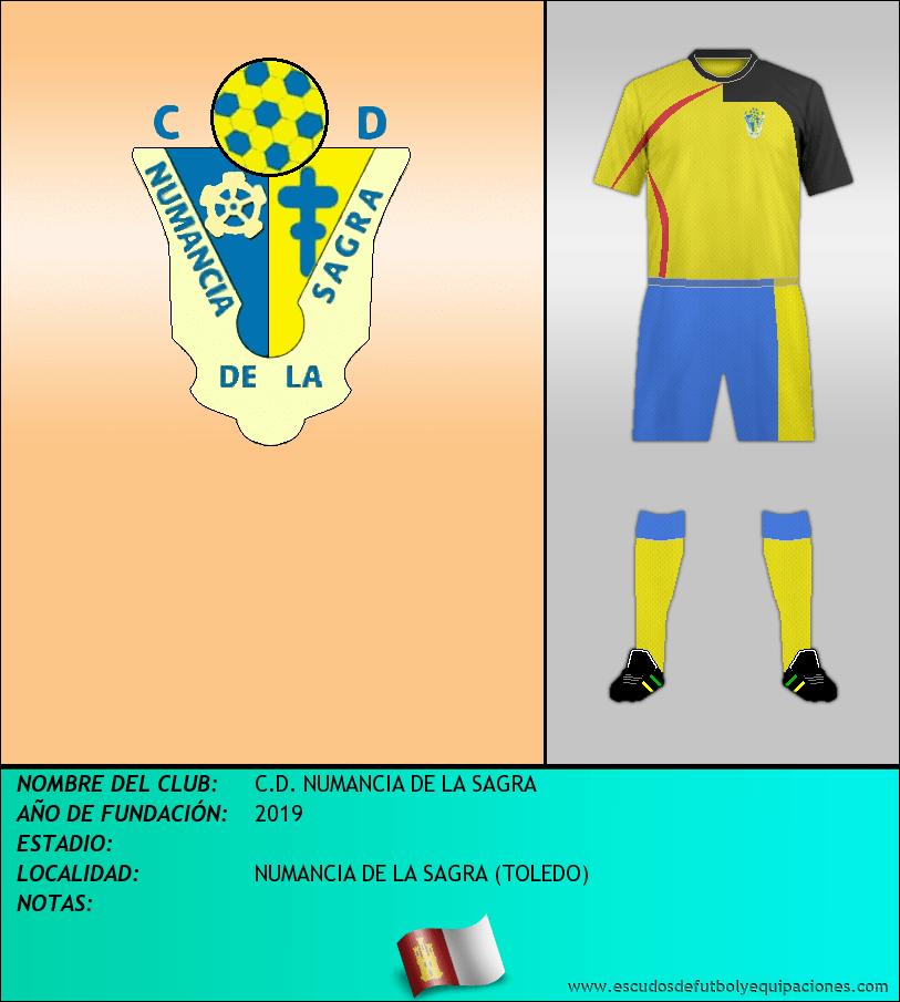Escudo de C.D. NUMANCIA DE LA SAGRA