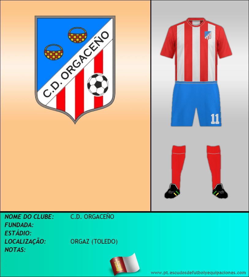 Escudo de C.D. ORGACEÑO