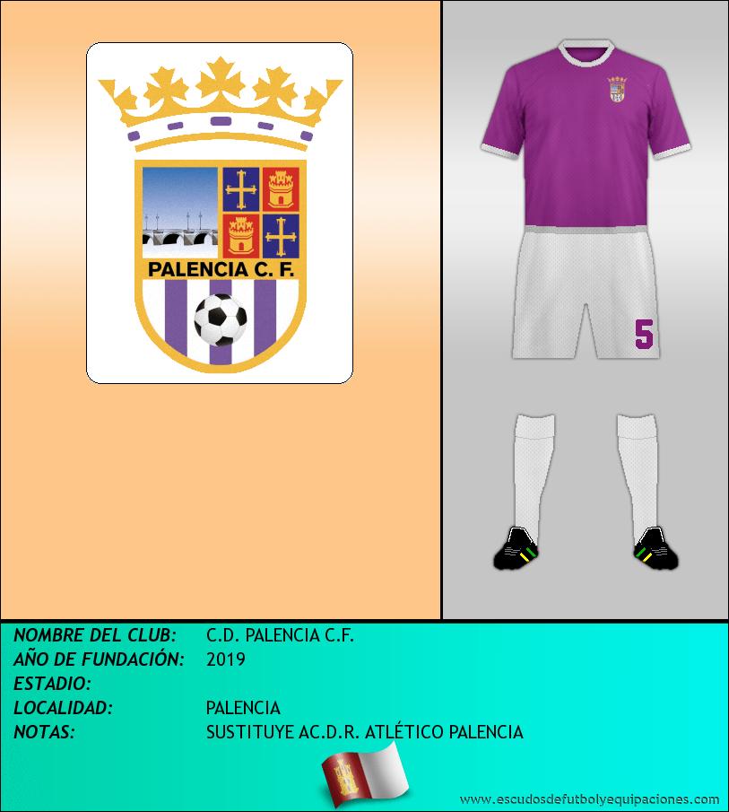 Escudo de C.D. PALENCIA C.F.