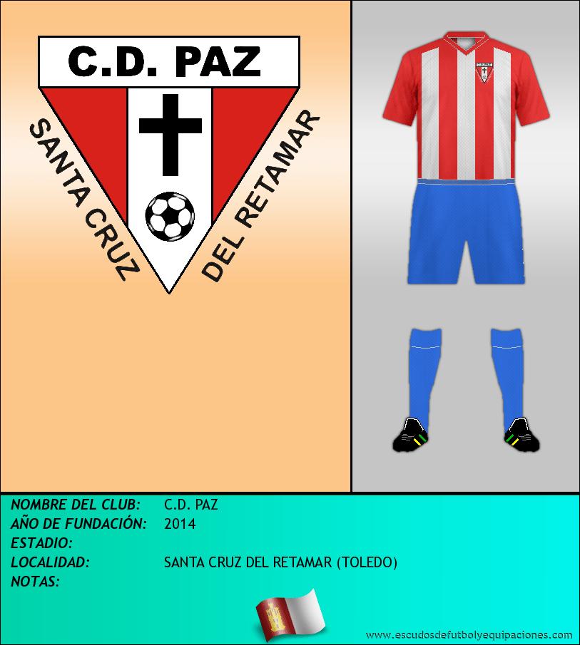 Escudo de C.D. PAZ