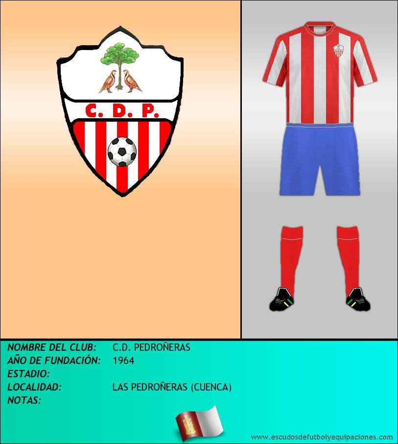 Escudo de C.D. PEDROÑERAS