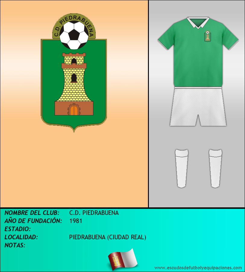 Escudo de C.D. PIEDRABUENA