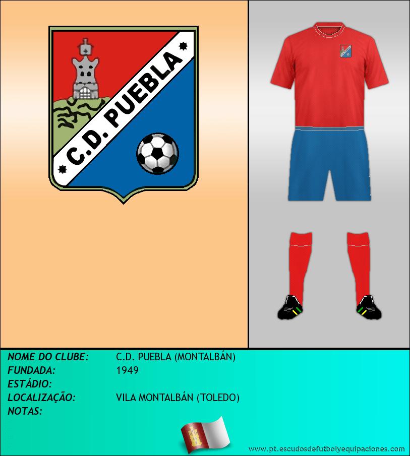 Escudo de C.D. PUEBLA (MONTALBÁN)