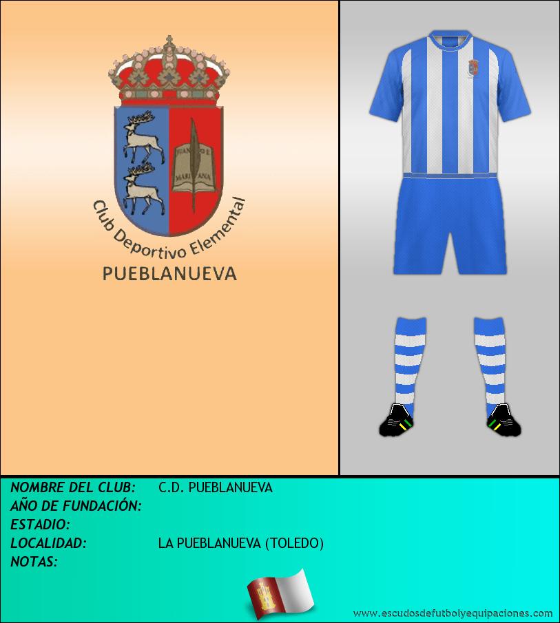 Escudo de C.D. PUEBLANUEVA