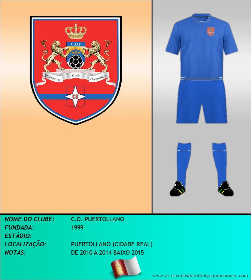 Escudo de C.D. PUERTOLLANO
