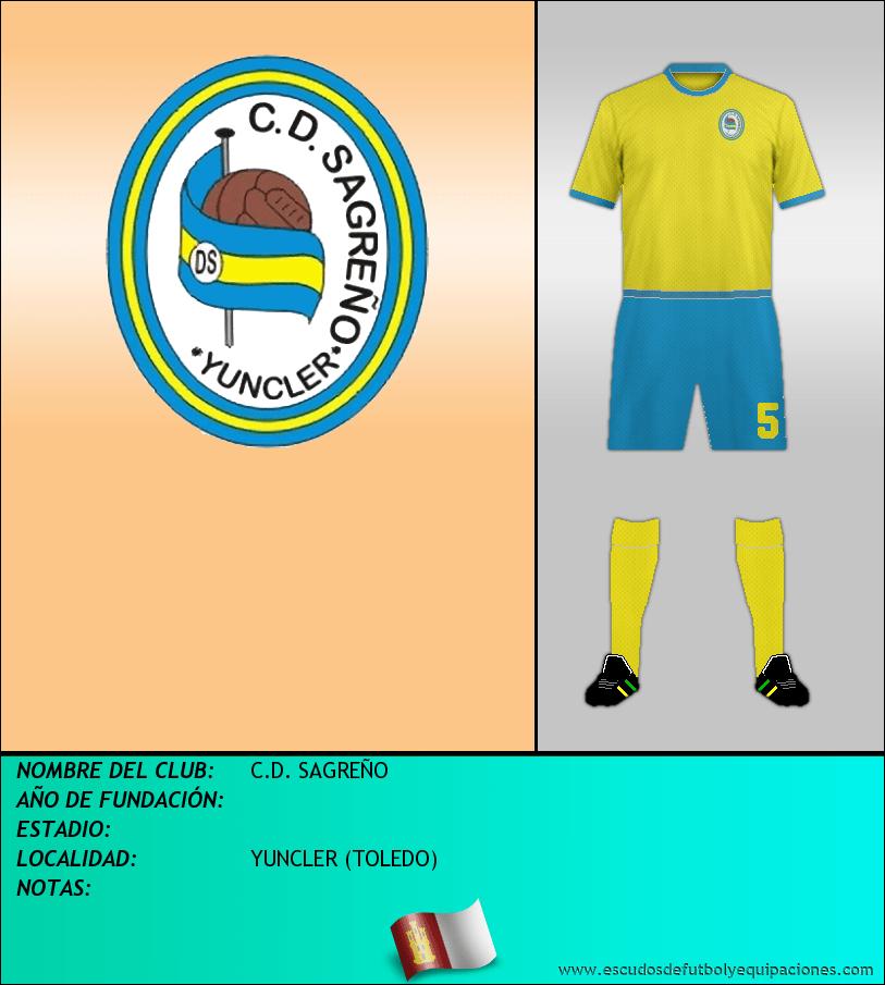Escudo de C.D. SAGREÑO