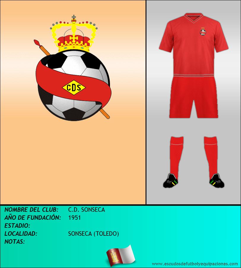 Escudo de C.D. SONSECA