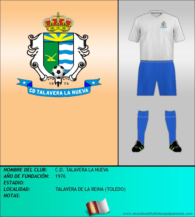 Escudo de C.D. TALAVERA LA NUEVA