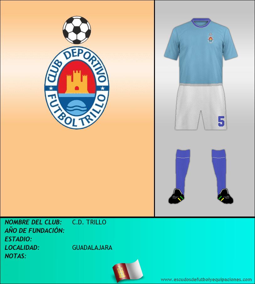 Escudo de C.D. TRILLO
