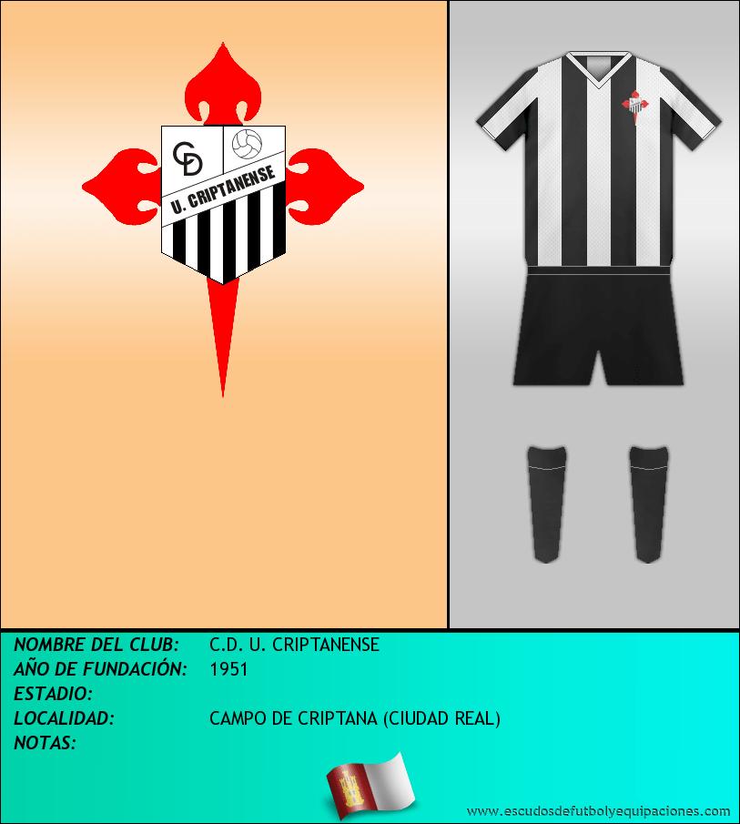 Escudo de C.D. U. CRIPTANENSE