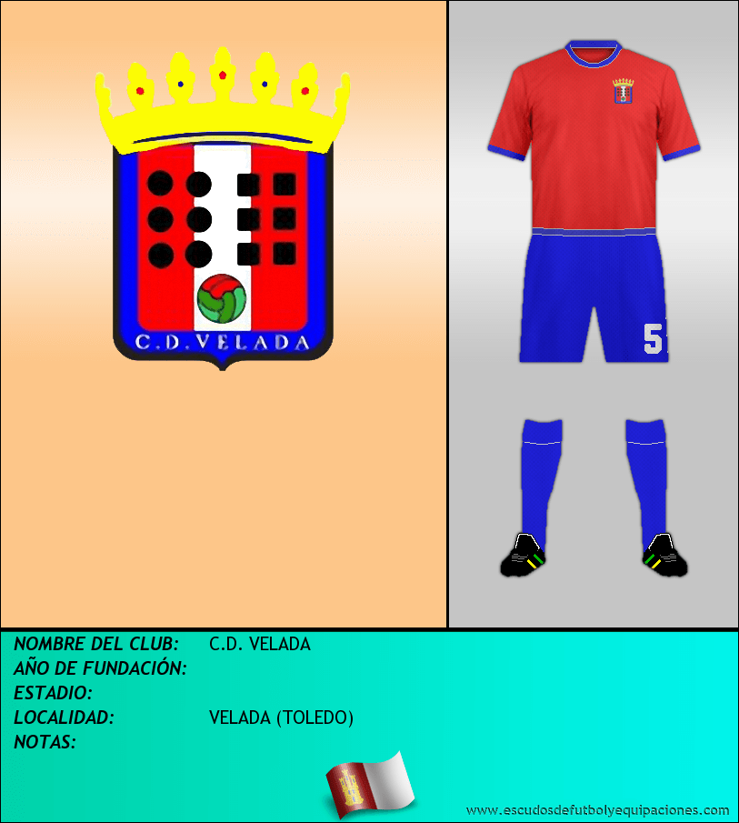 Escudo de C.D. VELADA