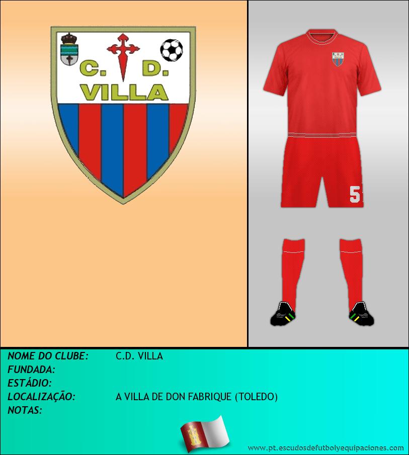 Escudo de C.D. VILLA