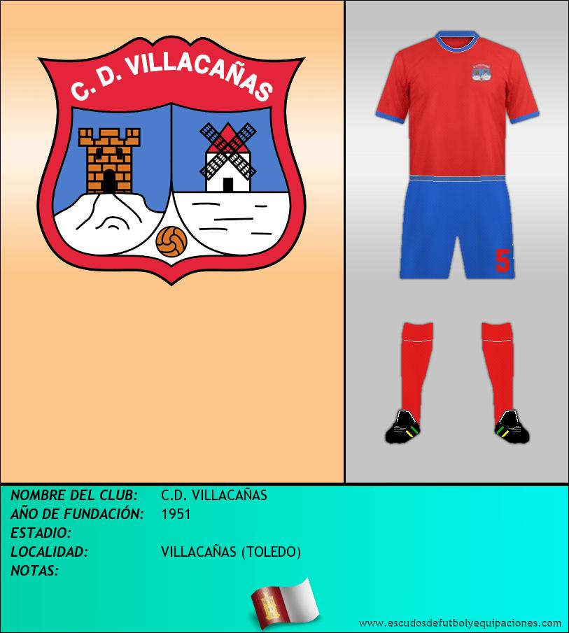 Escudo de C.D. VILLACAÑAS