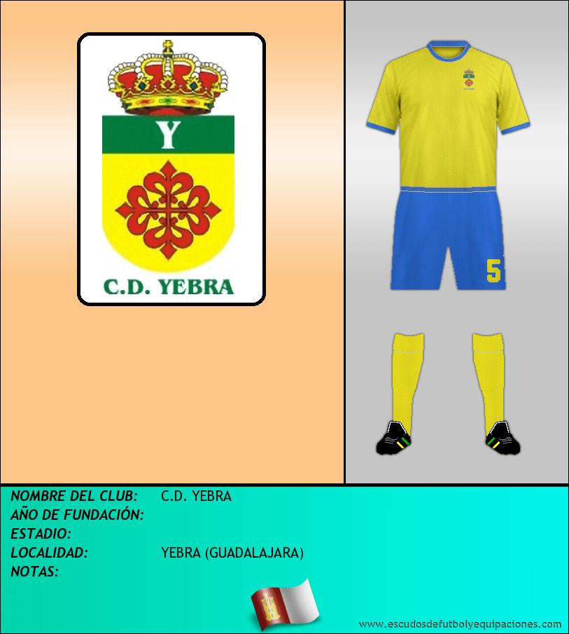 Escudo de C.D. YEBRA