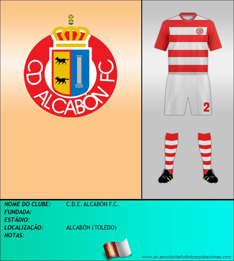Escudo de C.D.E. ALCABÓN F.C.