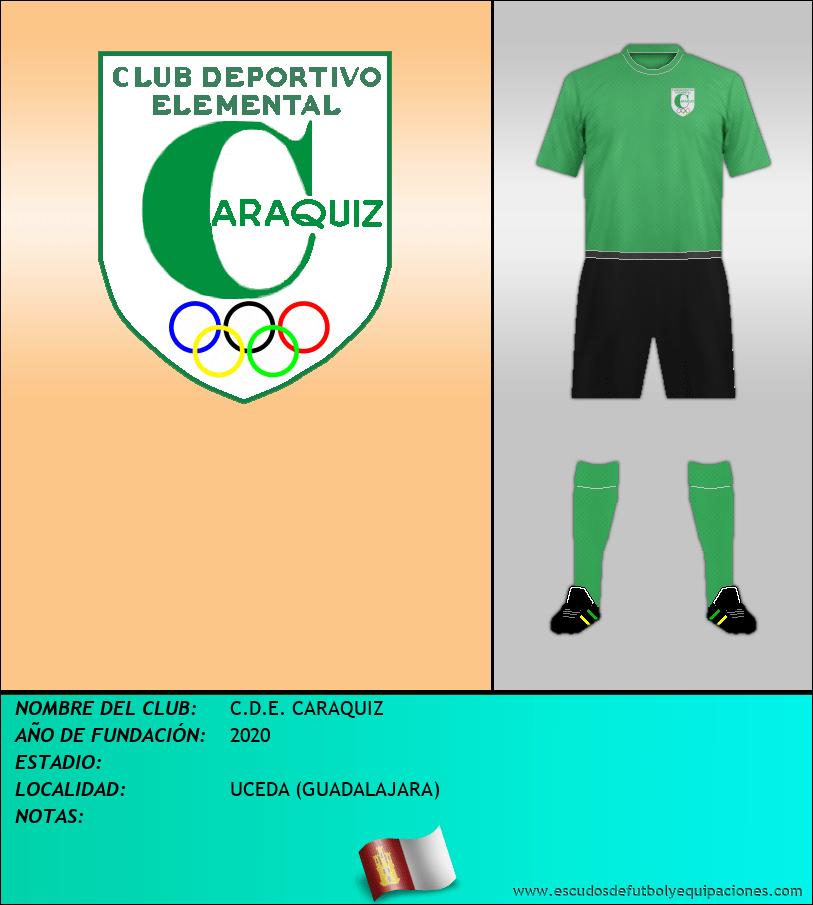 Escudo de C.D.E. CARAQUIZ