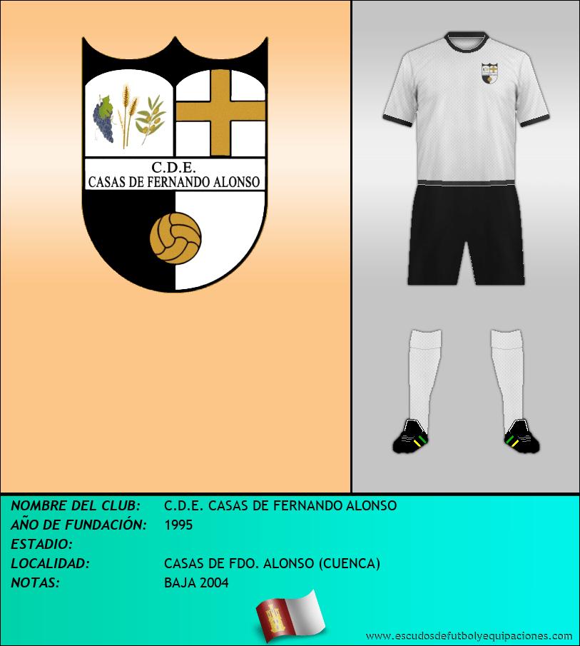 Escudo de C.D.E. CASAS DE FERNANDO ALONSO