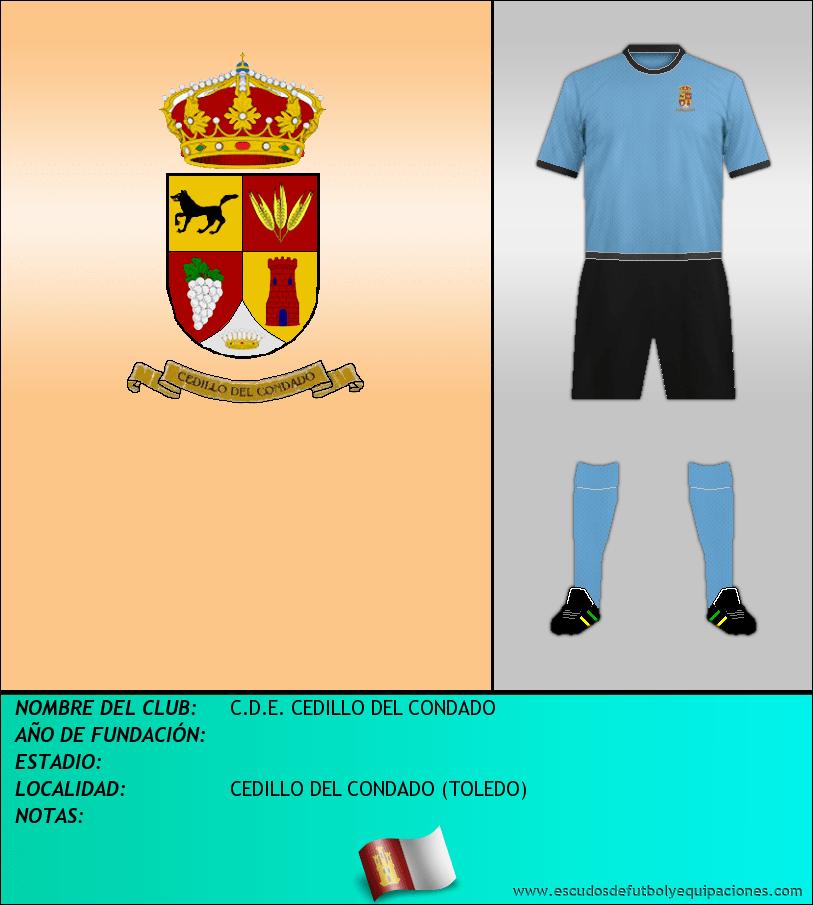 Escudo de C.D.E. CEDILLO DEL CONDADO