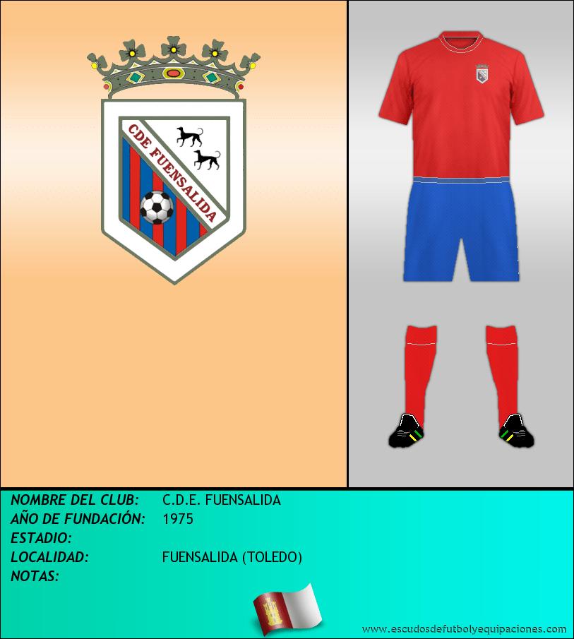 Escudo de C.D.E. FUENSALIDA