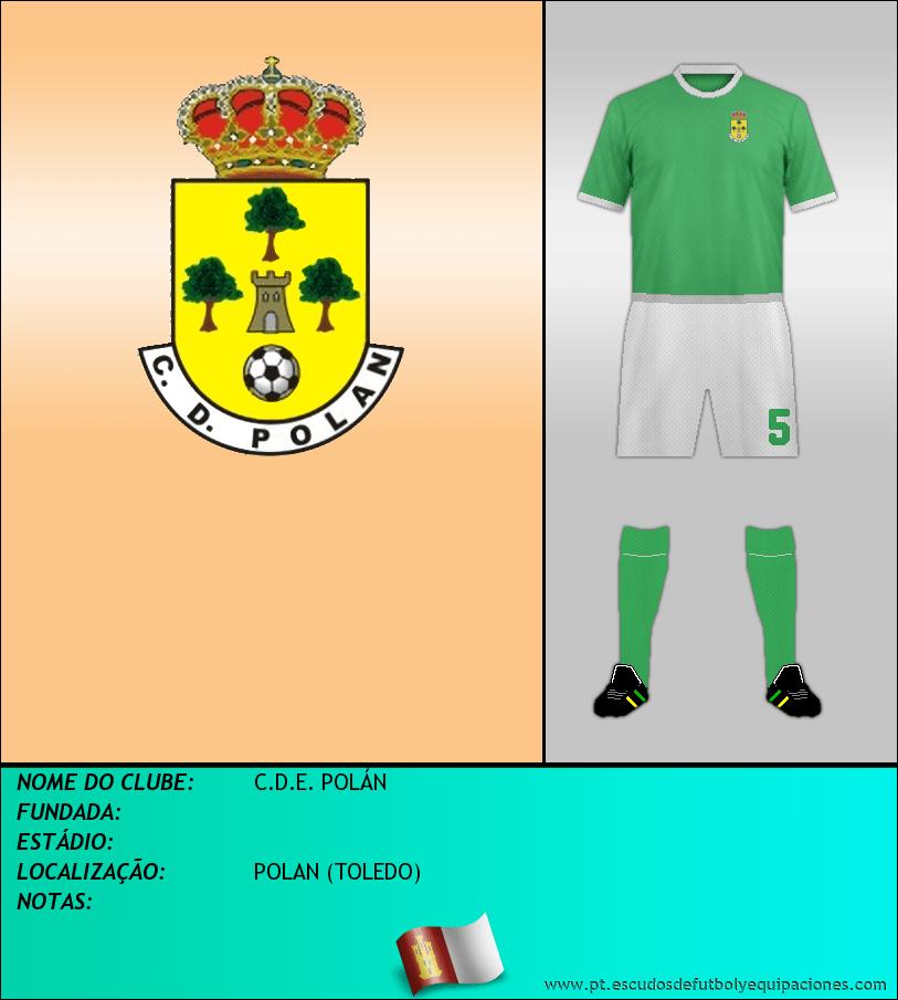 Escudo de C.D.E. POLÁN