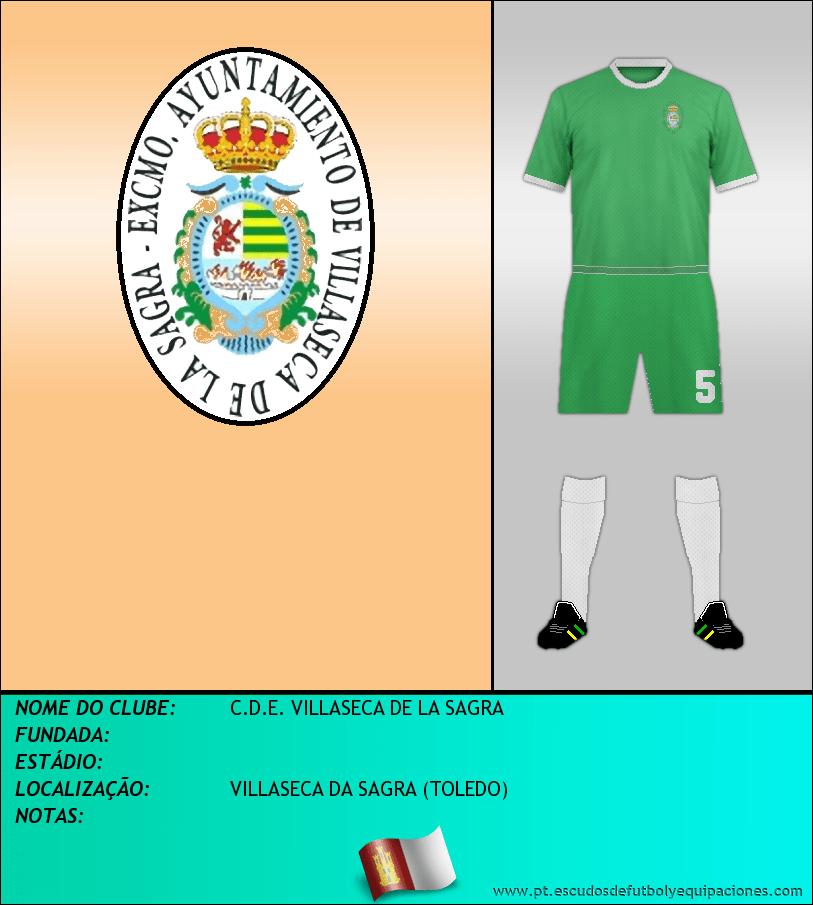 Escudo de C.D.E. VILLASECA DE LA SAGRA