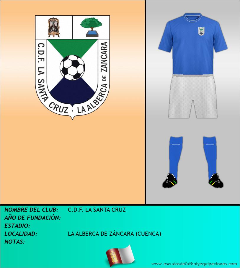 Escudo de C.D.F. LA SANTA CRUZ