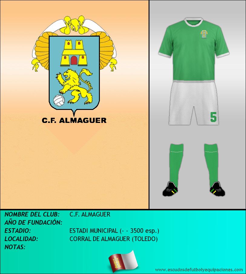 Escudo de C.F. ALMAGUER