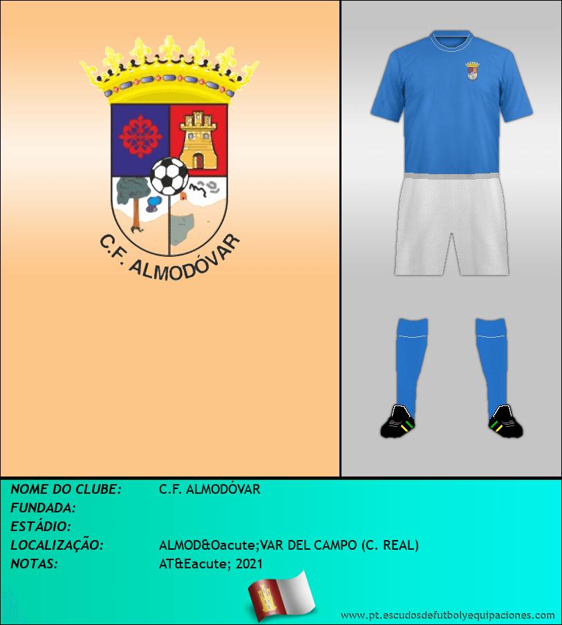 Escudo de C.F. ALMODÓVAR
