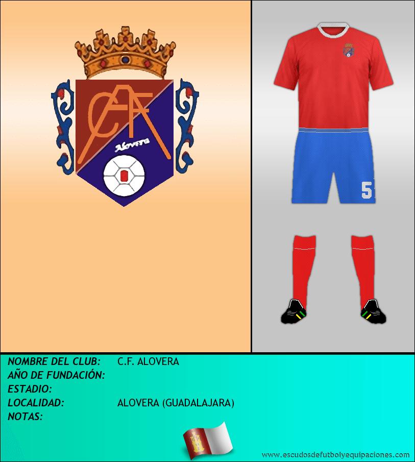 Escudo de C.F. ALOVERA
