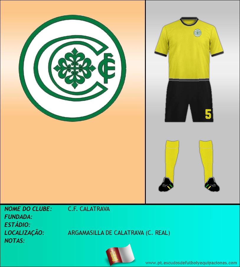 Escudo de C.F. CALATRAVA
