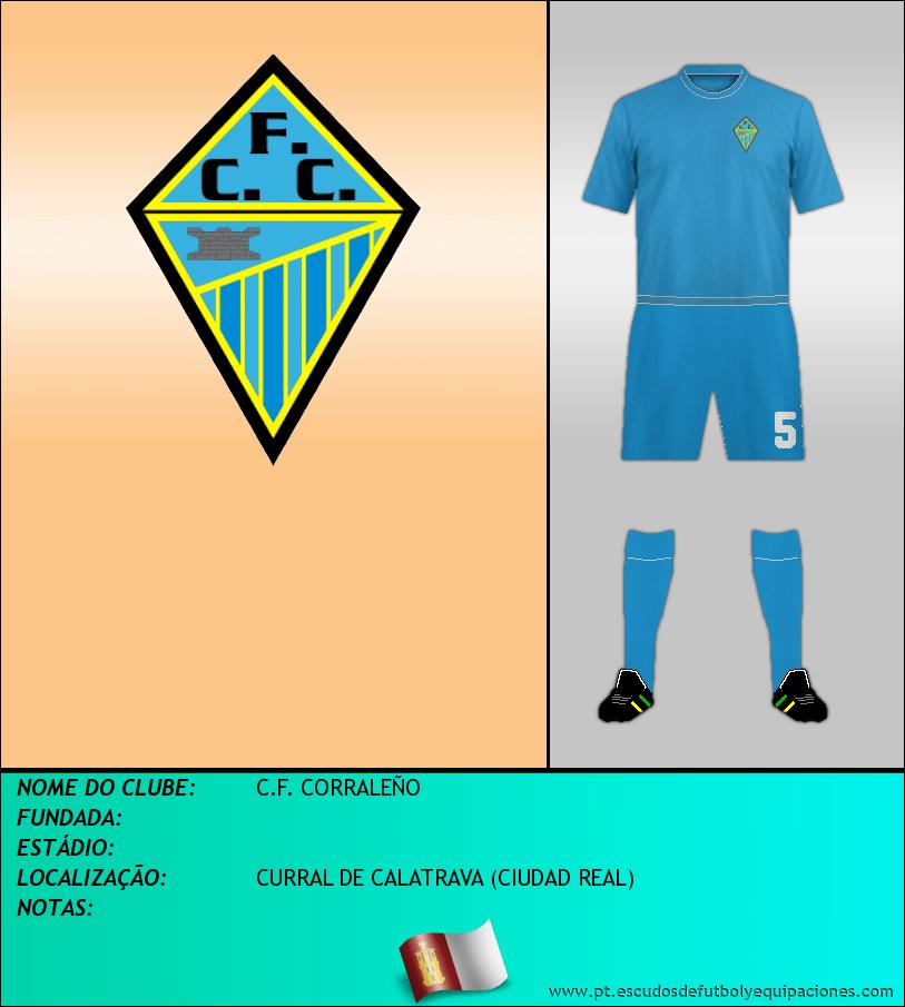 Escudo de C.F. CORRALEÑO