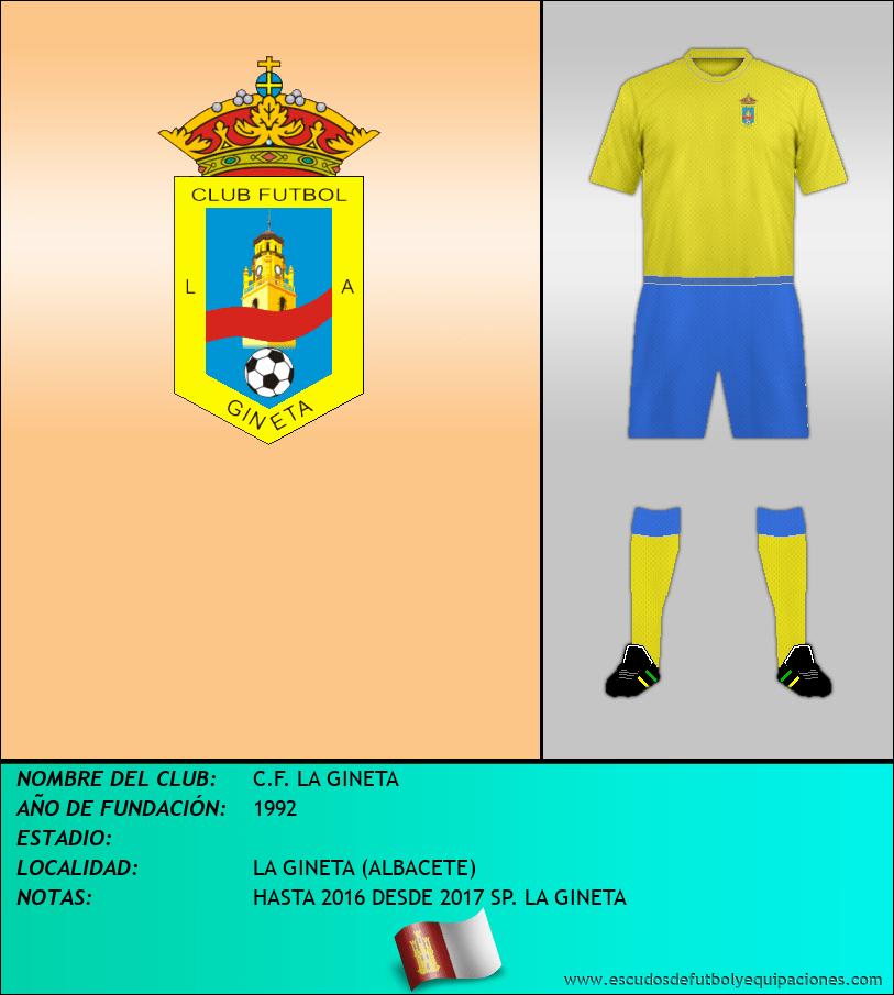 Escudo de C.F. LA GINETA
