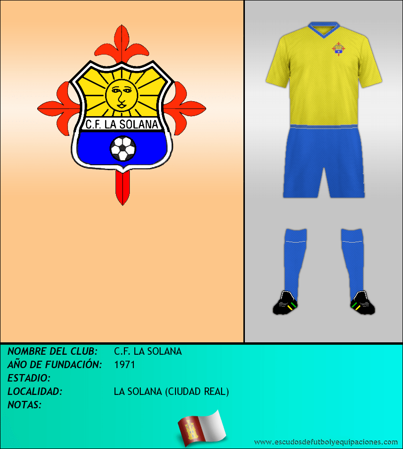Escudo de C.F. LA SOLANA