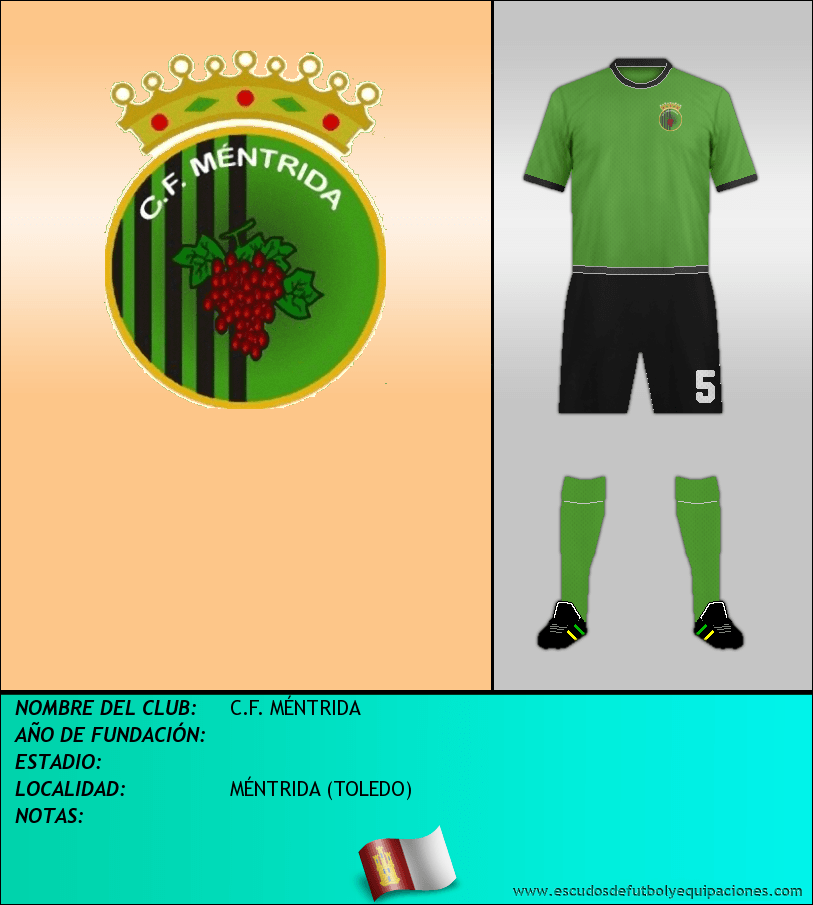 Escudo de C.F. MÉNTRIDA