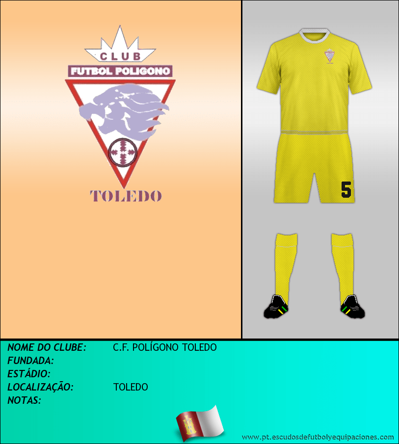 Escudo de C.F. POLÍGONO TOLEDO