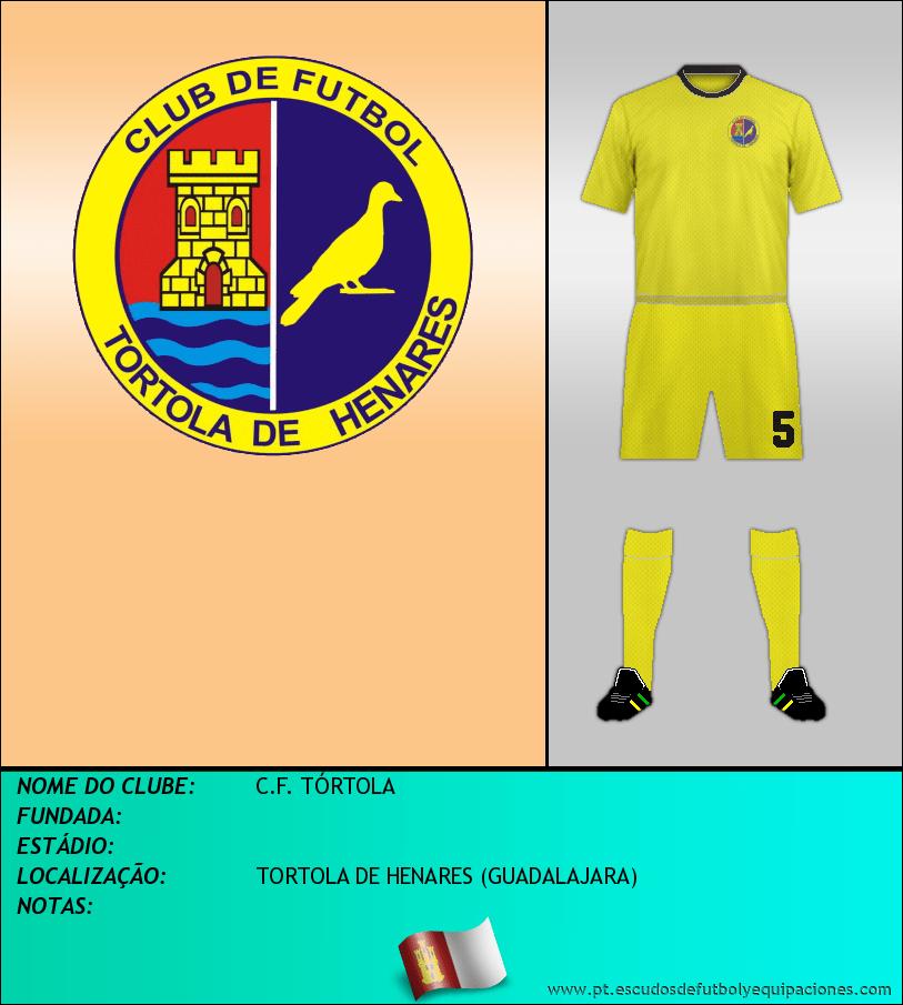 Escudo de C.F. TÓRTOLA