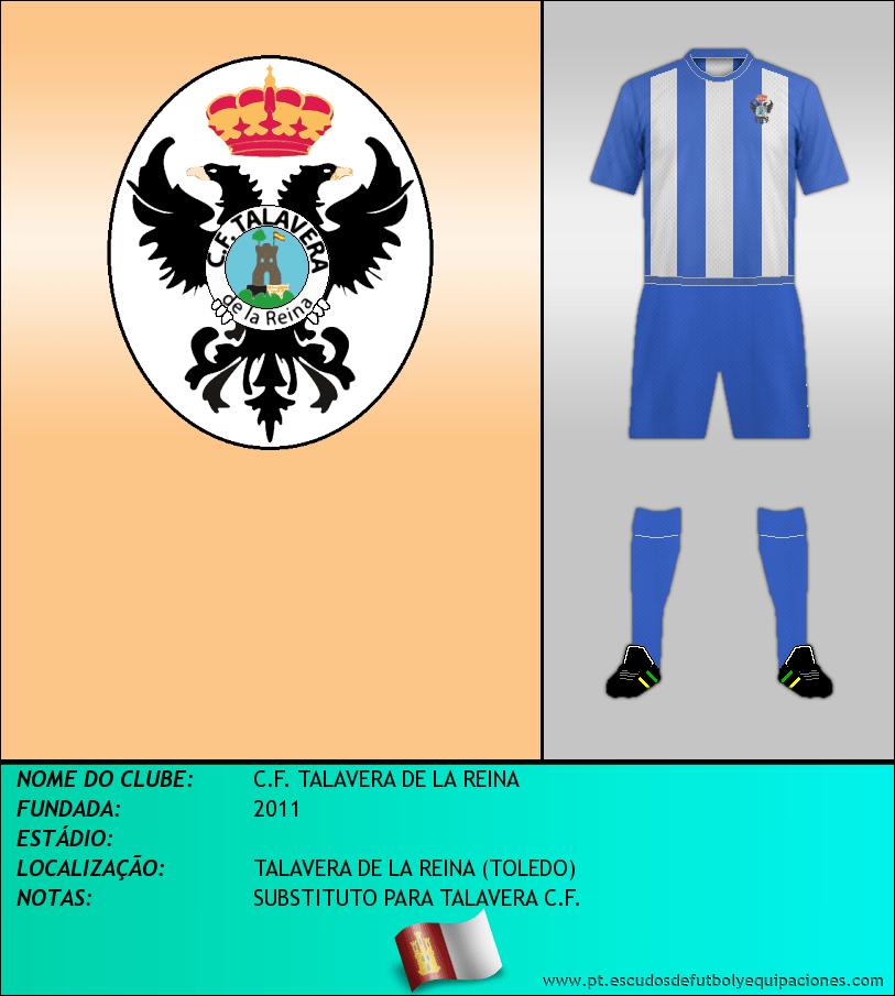 Escudo de C.F. TALAVERA DE LA REINA