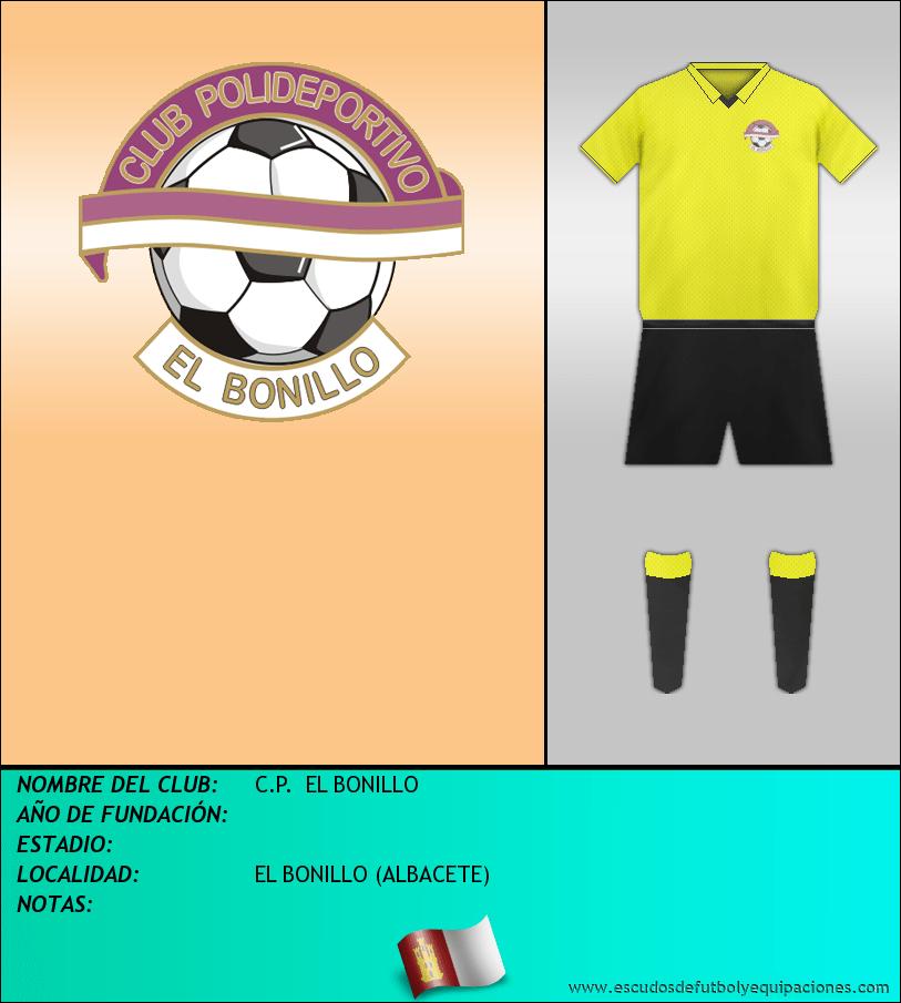 Escudo de C.P.  EL BONILLO