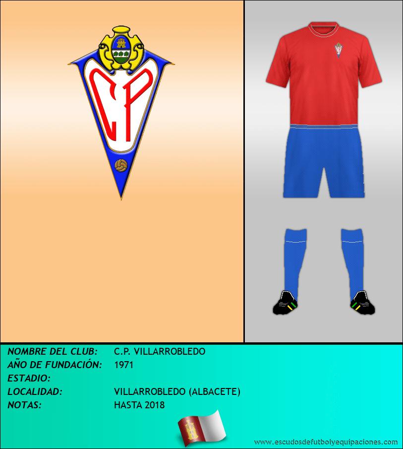 Escudo de C.P. VILLARROBLEDO
