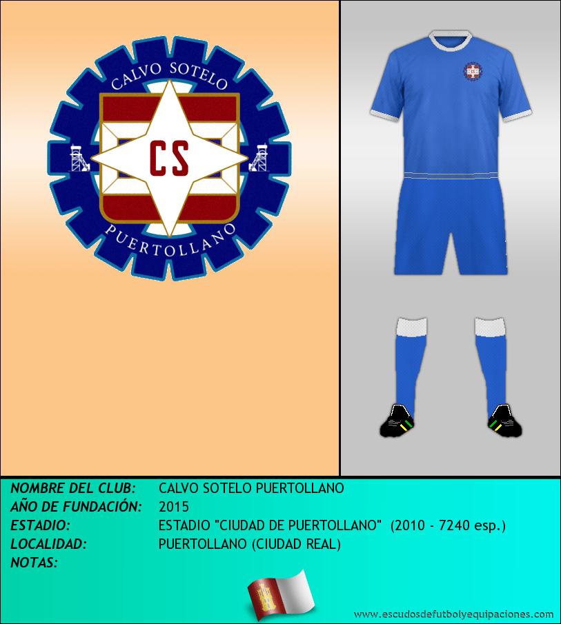 Escudo de CALVO SOTELO PUERTOLLANO