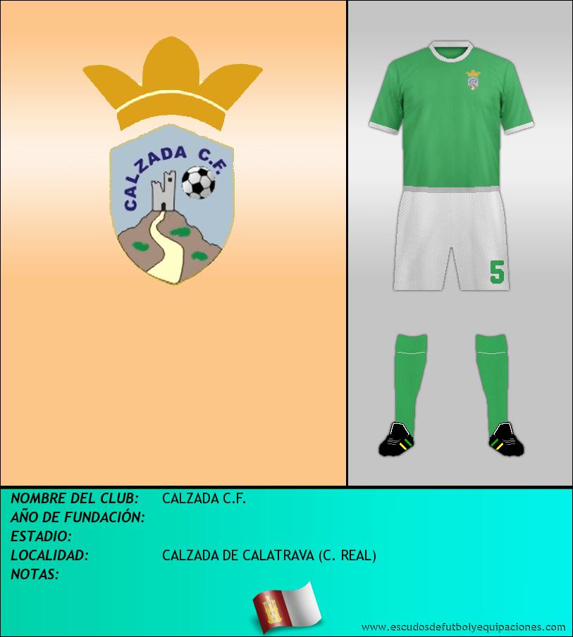 Escudo de CALZADA C.F.