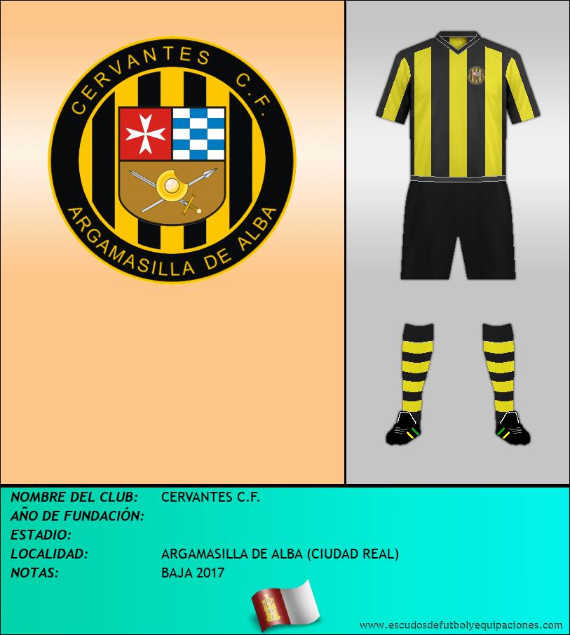 Escudo de CERVANTES C.F.