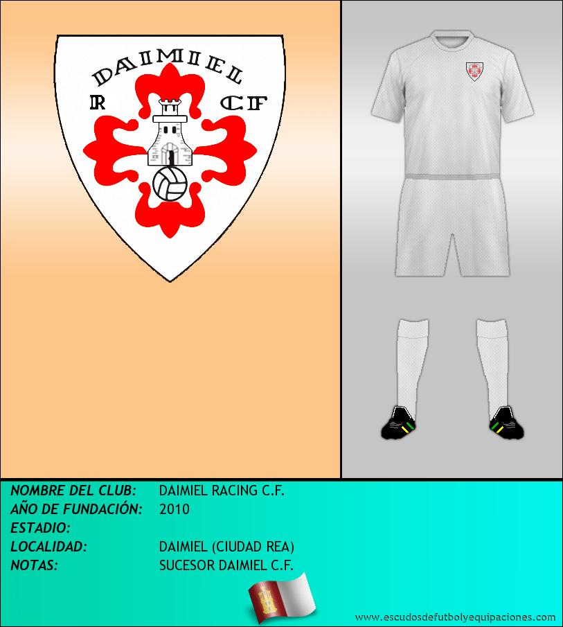 Escudo de DAIMIEL RACING C.F.