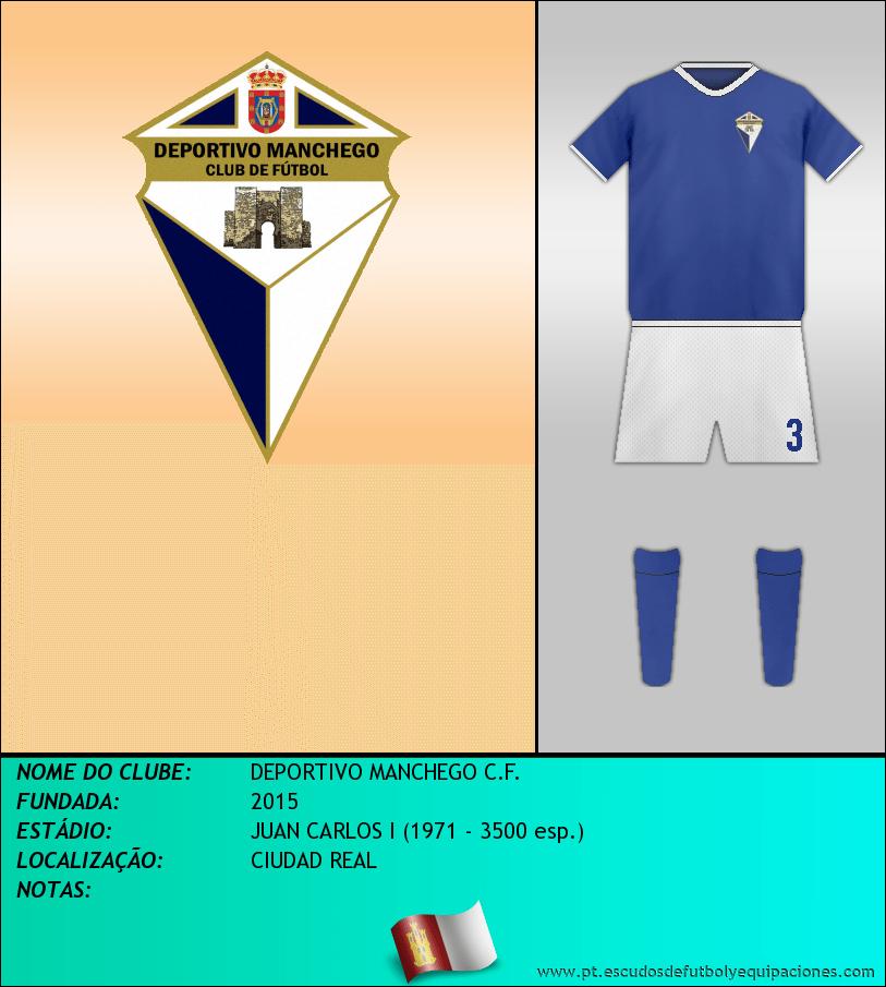 Escudo de DEPORTIVO MANCHEGO C.F.