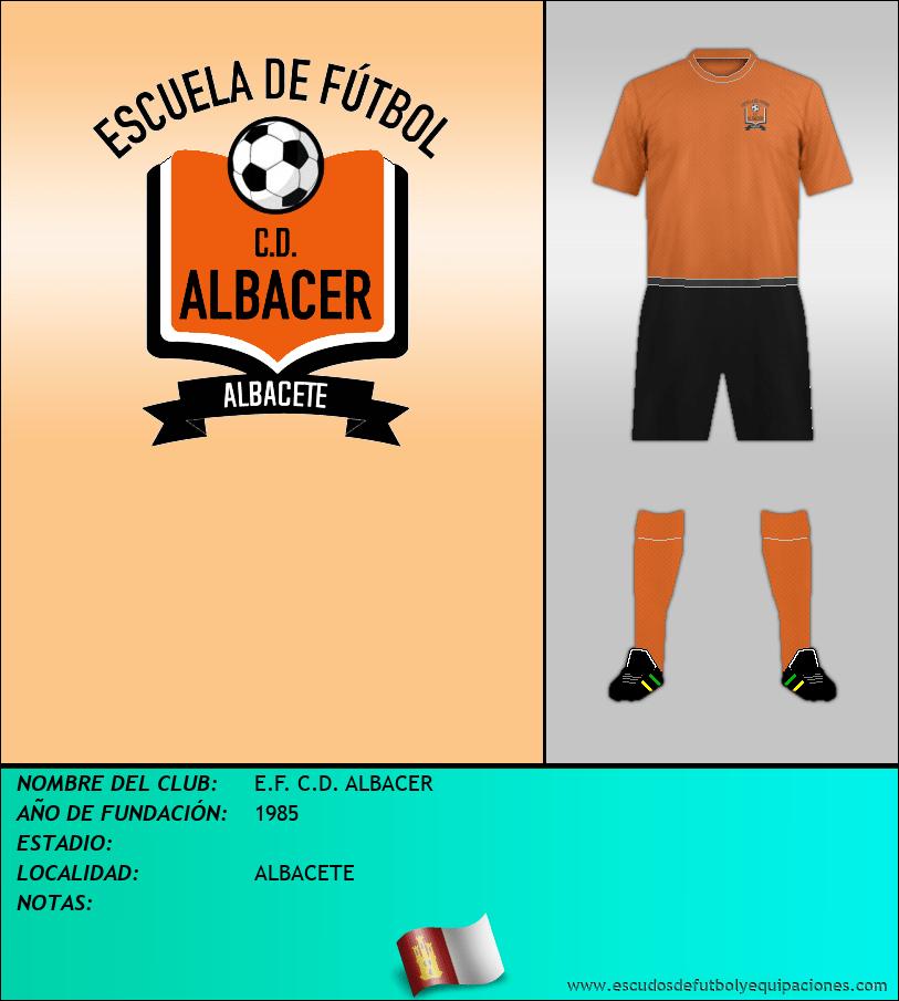 Escudo de E.F. C.D. ALBACER